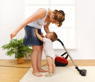 Как работать дома с маленьким ребенком -2